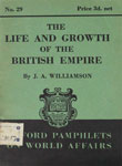 Life and Growth of the British Empire