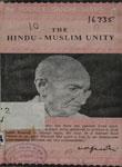 Hindu-Muslim Unity