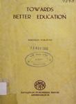 Towards Better Education