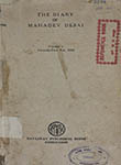The Diary of Mahadev Desai Volume I