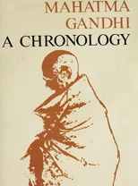 Mahatma Gandhi A Chronology (Publication Division)
