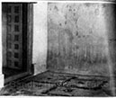 The room where Gandhiji was Born; the swastika indicates the exact spot