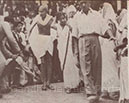 On the way to a prayer meeting, Simla, May 1946