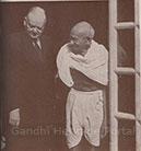 With Mr. Hoover, Delhi, April 1946