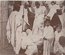 More photographs of Gandhiji's peace mission in Noakhali