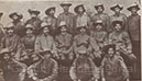 With the Indian Stretcher-bearer Corps during the Zulu Rebellion, 1906.