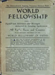 World Fellowship Addresses and Messages by Leading Spokesmen of All Faiths, Races and Countries