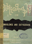 Bibliography On Non-Violence And Satyagraha